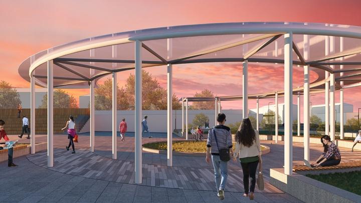 Омичи выбрали проекты, по которым будут благоустраивать пять городских территорий