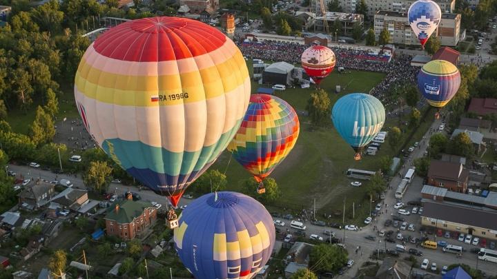 После перерыва в Кунгуре пройдет фестиваль воздухоплавания «Небесная ярмарка»