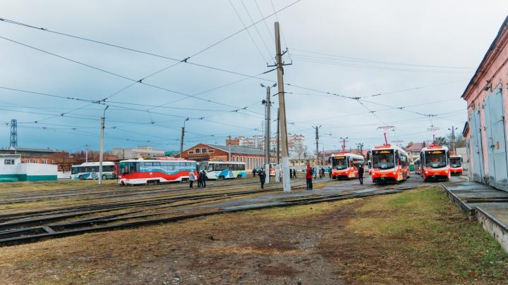 Новое трамвайное депо на Левобережье не будут строить в ближайшее время