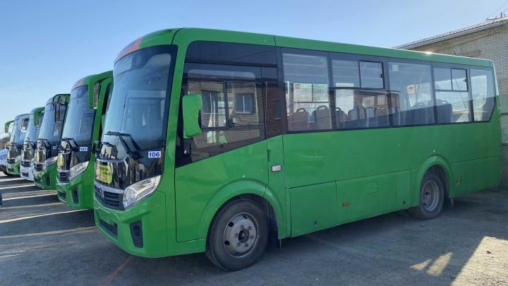 В Кургане часть автобусов перераспределят между маршрутами