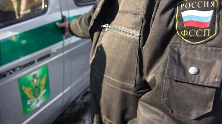 У самарца за долги арестовали автомобиль Porsche Cayenne