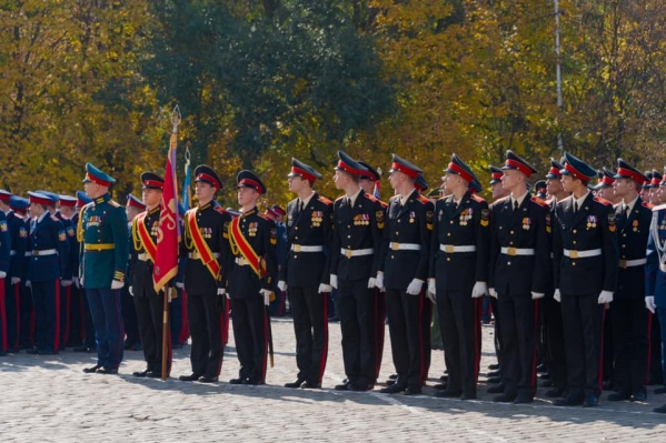 Сейчас в кадетском корпусе обучаются свыше 550 кадетов
