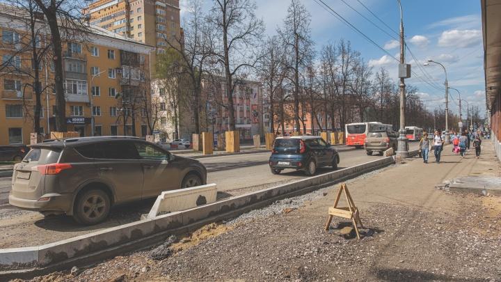 В Перми закроют проезд через Комсомольский проспект по улице Пушкина. Как поедут автобусы? Карта