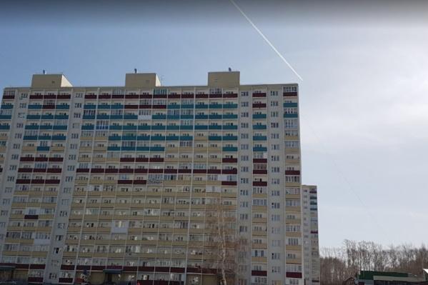 Суицид в прямом эфире произошел на улице Твардовского<br>