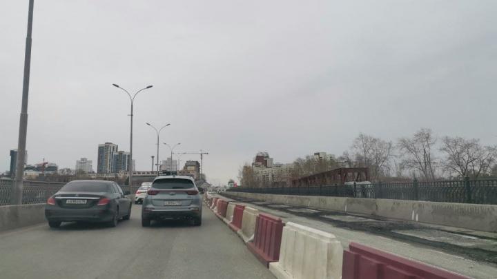 Готовьтесь к адским пробкам: мост на Бебеля частично перекрыли