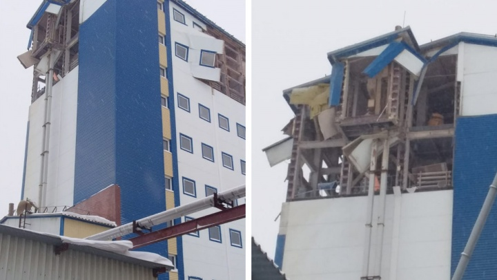 Во время взрыва в здании на Северном проезде пострадал мужчина