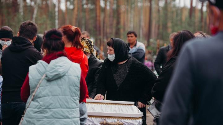 На прощание с Настей Муравьёвой пришли десятки людей: как это было