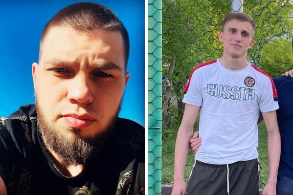 Слева на фото — Амин, справа — Данил