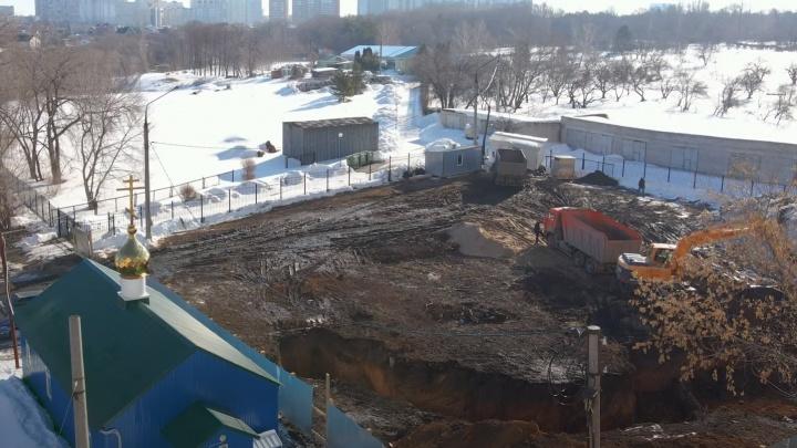 «РПЦ оттяпала кусок земли!»: самарцы выступили против строительства у Ботанического сада
