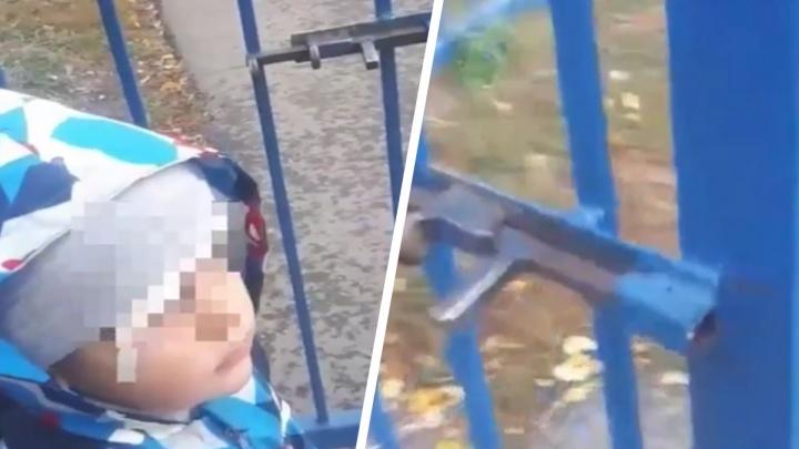 В детском садике в Екатеринбурге ребенок получил травму. Его увезли на скорой