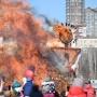 Коронавирус сорвал сожжение чучела Масленицы и проводы зимы на Дону