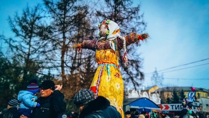 Фаер-шоу, дефиле на льду и самые вкусные блины: в Челябинске определились с программой на Масленицу