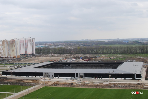 """Предполагается, что новый стадион будет вмещать <nobr class=""""_"""">7 тысяч</nobr> болельщиков"""