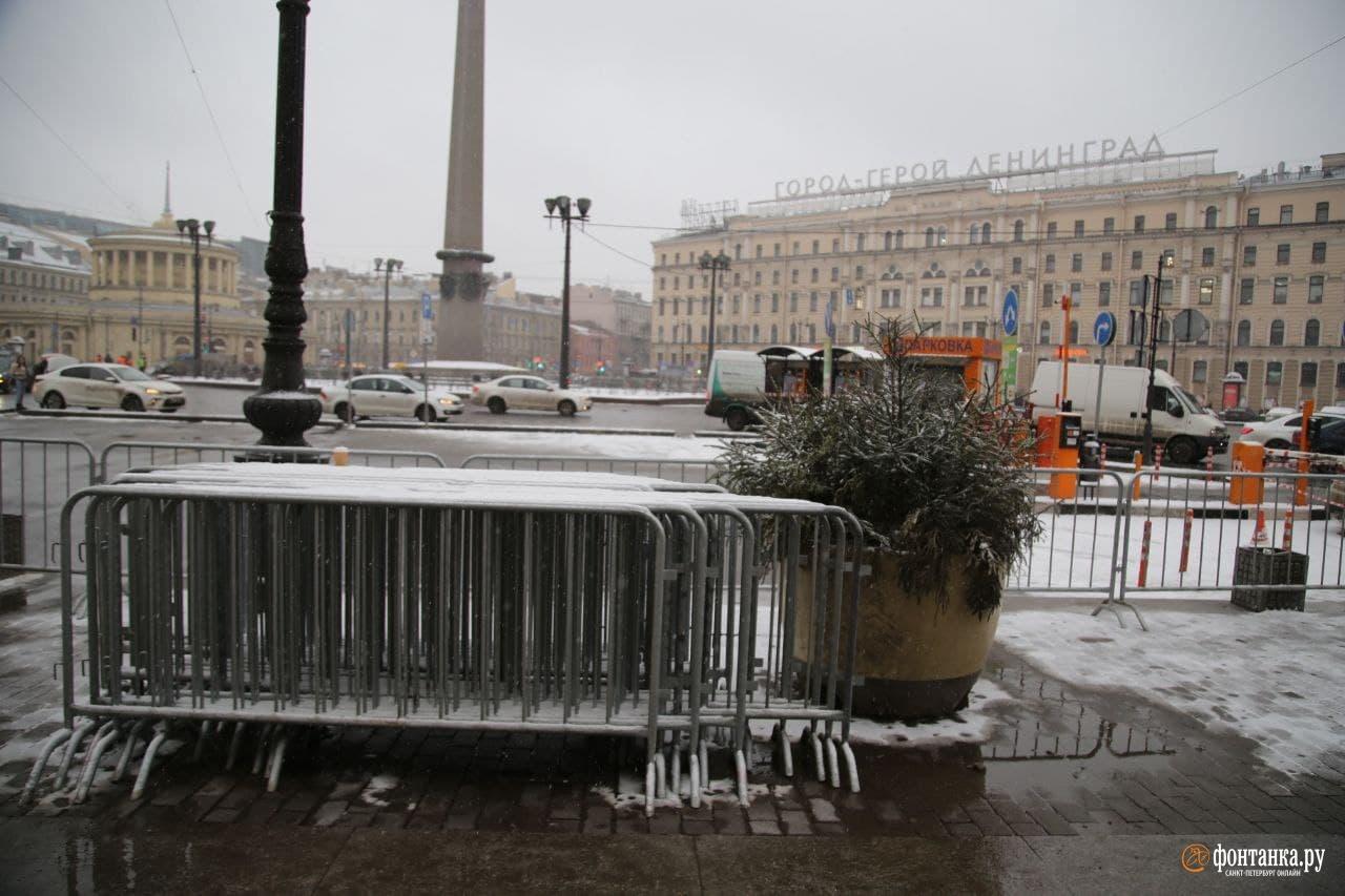Невский проспект у площади Восстания<br><br>автор фото Павел Каравашкин / «Фонтанка.ру»