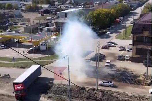 Краснодарцы сообщили о взрыве на улице Московской. Что это было?