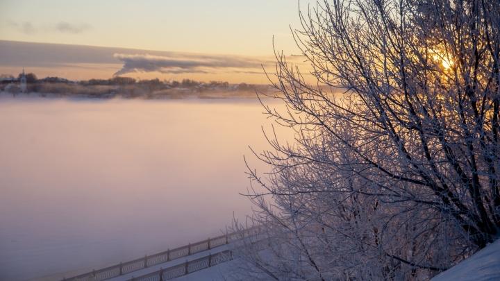 Предупреждение МЧС: на Ярославль идут 35-градусные морозы
