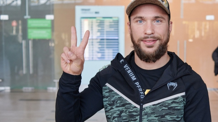 Боксер Александр Беспутин прилетел в Красноярск для боя с чемпионом Мексики