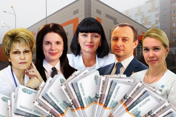 Смотрим доходы главврачей Волгоградской области