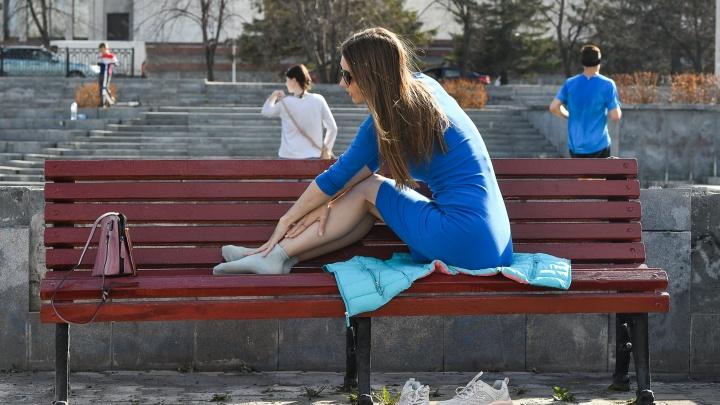Прощайте, куртки и плащи: в Екатеринбург придет аномальная жара