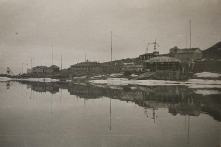 Берег бухты Тихой во времена СССР