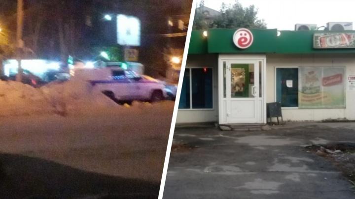 В Новосибирске пьяный покупатель разгромил продуктовый магазин