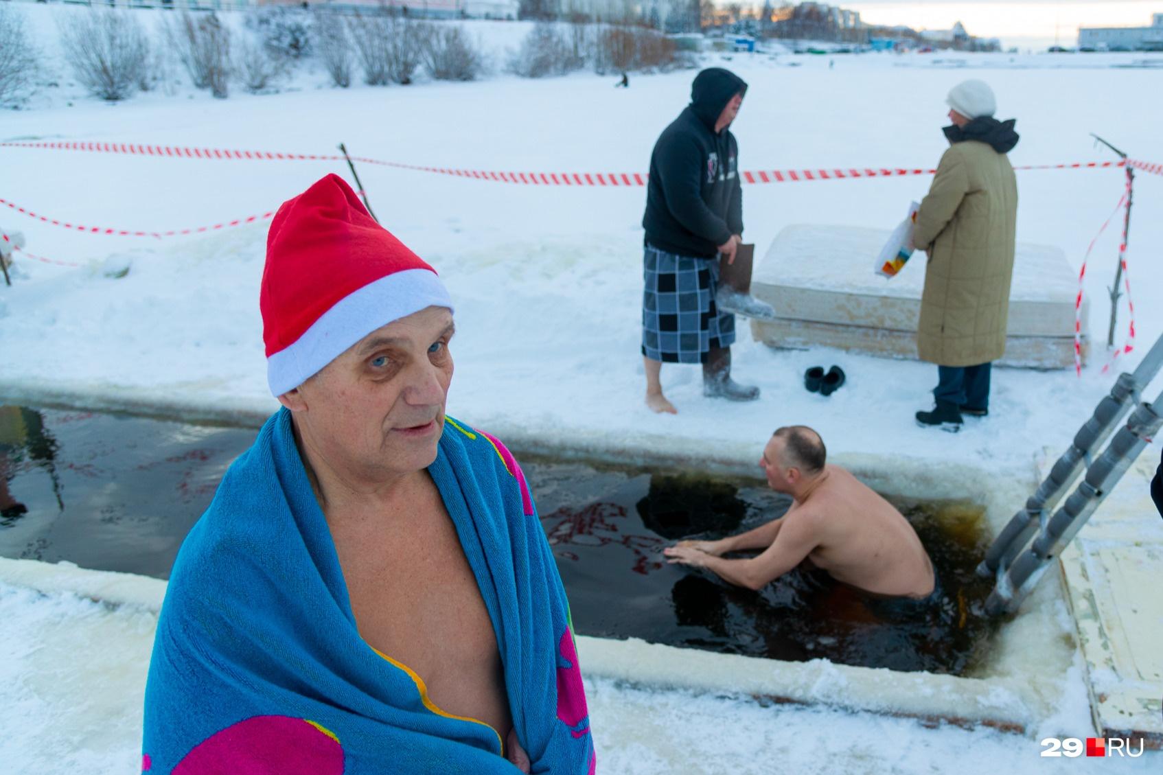 Виталий Гусев — «главный морж» Архангельска
