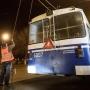 В Волгограде из-за повреждения контактной сети остановились троллейбусы