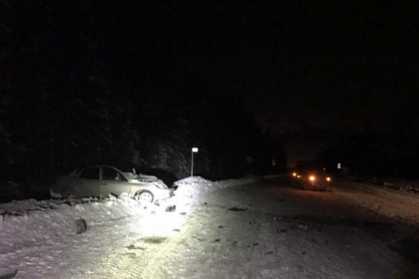 ДТП произошло около 21 часа в Большесельском районе