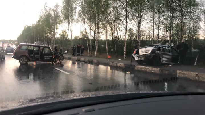 В Ярославле в ДТП погибла молодая женщина