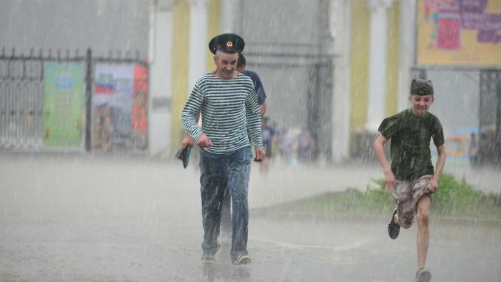 Ждем дождей и града: на Свердловскую область надвигаются грозы