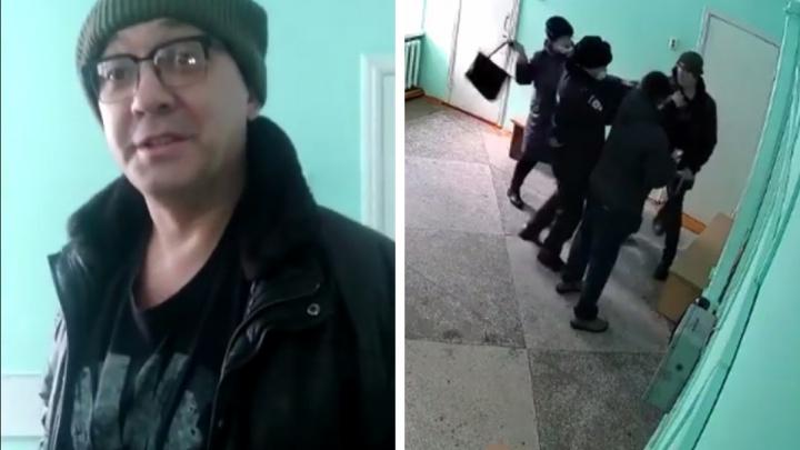 В Сети появилось видео нападения на скандально известного анестезиолога и просьбы остановить травлю