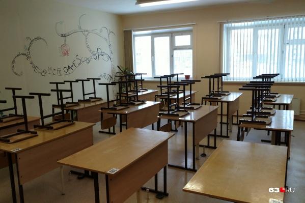 Долгое время учебные классы пустовали из-за коронавируса