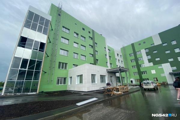 В новой больнице будут работать с самыми опасными инфекционными заболеваниями