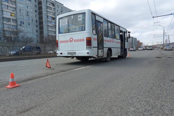 """Авария произошла почти на свободной дороге днем <nobr class=""""_"""">21 апреля</nobr>"""