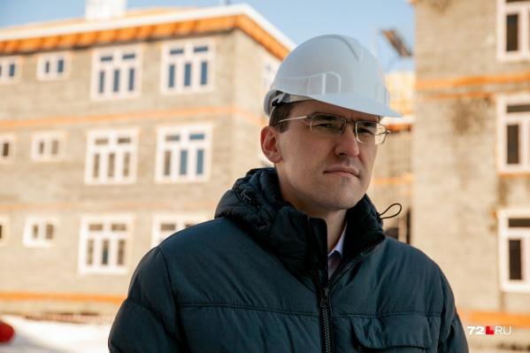 Интервью с новым главным строителем Тюменской области прошло на стройке