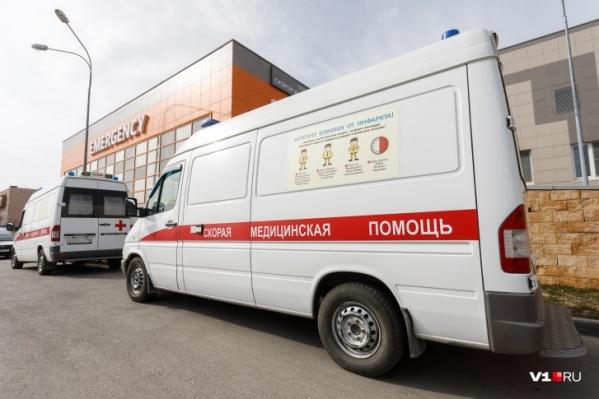 Мужчина с многочисленными травмами был доставлен в больницу скорой помощи