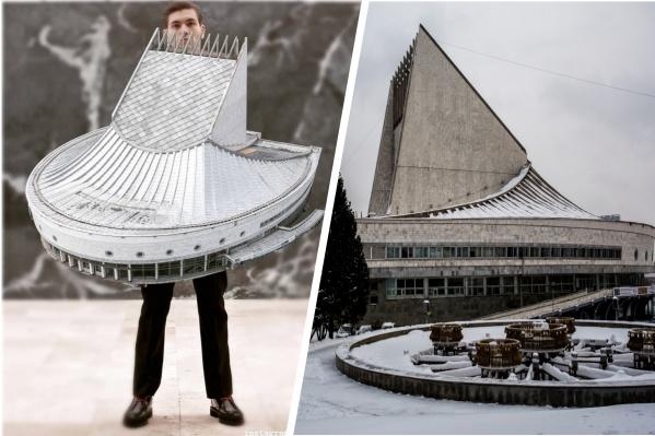 Фотограф вдохновлялась советской архитектурой 1970–1980-х годов