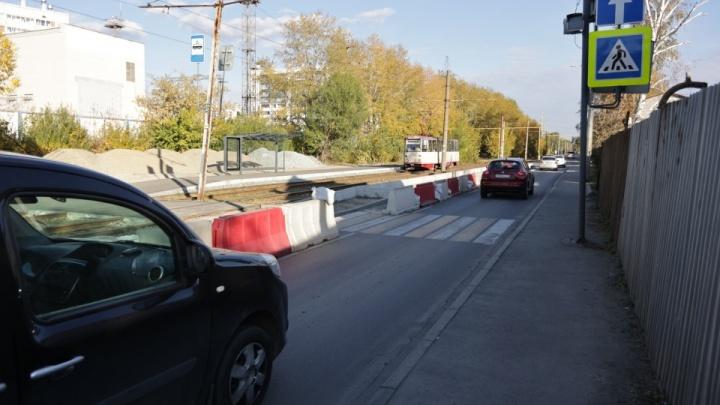 После смертельного ДТП на Дзержинского в Челябинске разгорелись споры вокруг трамвайных платформ