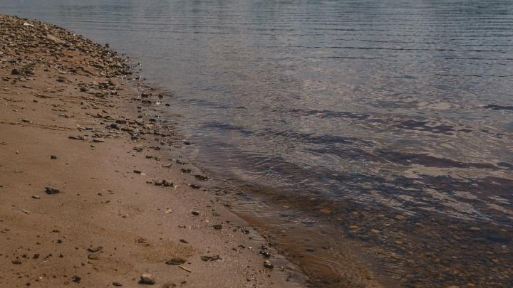 На диком пляже в Перми утонул мужчина, который пришел искупаться с друзьями