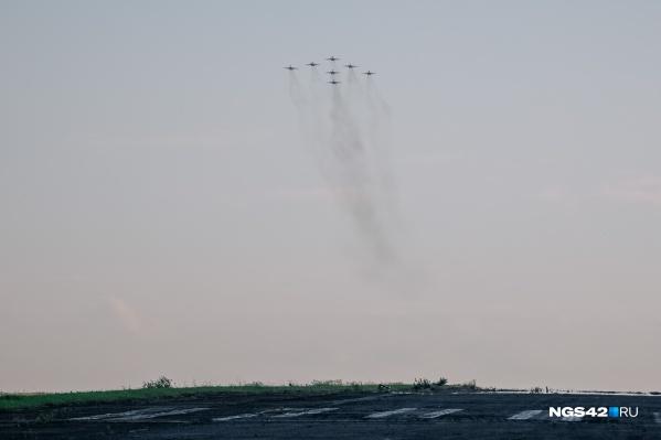 """Фигуры высшего пилотажа покажут семь самолетов <nobr class=""""_"""">МиГ-29</nobr>"""