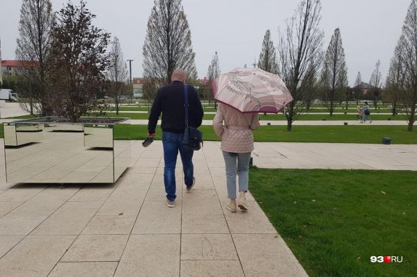 Ближайшие два дня лучше выходить на улицу с зонтом