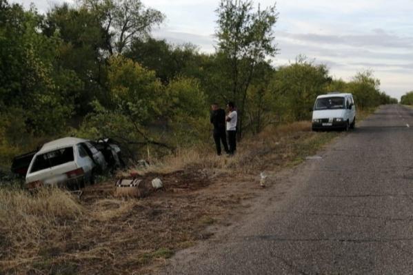 Авария произошла в Николаевском районе
