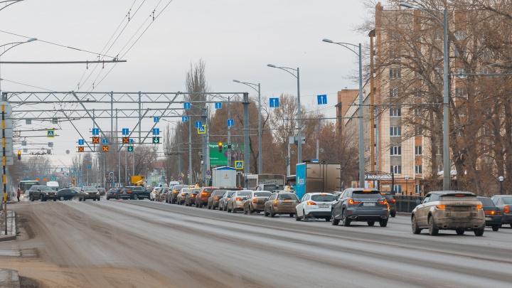 В Самаре на Московском шоссе добавят еще одну полосу движения