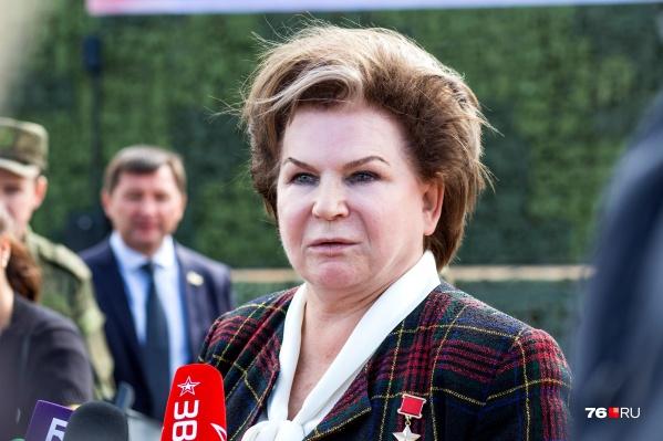 Валентина Терешкова заработала больше своих ярославских коллег по Госдуме