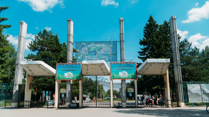 В главном парке Омска установят экстремальный аттракцион за 10 миллионов рублей