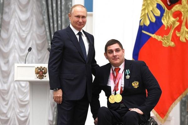 Александр Кузюков поблагодарил президента