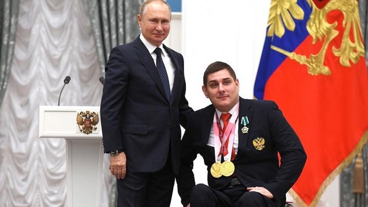 Президент России наградил омского фехтовальщика, завоевавшего два золота на Паралимпиаде