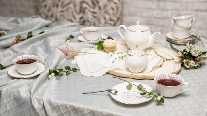 27 и 28 февраля «Галамарт» будет продавать фарфоровые наборы посуды всего по1рублю