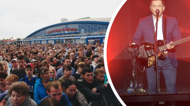 Хедлайнером концерта 9 Мая в Челябинске будет группа «Любэ». Публикуем афишу праздника