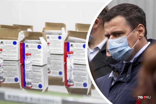 Губернатор Дмитрий Миронов заявил, что доволен тем, как идет прививочная кампания